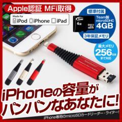 iPhone バックアップ USBメモリ microSD 4GB 容量不足 写真 連絡先 動画 データ コピー 保存 カードリーダー microSDカードリーダー iPho