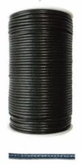 ロウ引き丸紐 2mm ブラック 100ヤード(約90m) KH-104