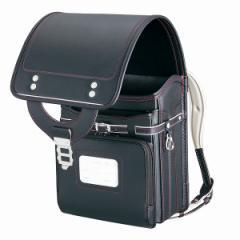 ランドセル LEATHER BOLCA 955(レザーボルカ955)《ブラック/レッド》【送料無料】(ランドセル、入学祝い、ウイング背かん、A4