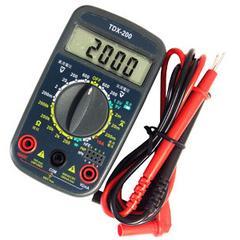 オーム電機 デジタルマルチテスター TDX-200 04-1855