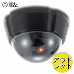 【アウトレット】ダミーカメラ UFO 人影に反応するセンサー ODC-08 07-4993B