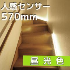 LEDエコスリム 直管LEDライトセンサー 長さ570mm 昼光色 LT-NLD85D-HS 07-9778 オーム電機