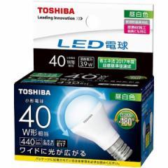 東芝 LEDミニクリプトン形電球 E17 広配光 40形相当 昼白色 LDA4N-G-E17/S/40W 16-0587