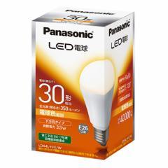 パナソニック LED電球 E26 30形相当 3.5W 電球色 LDA4LHEW 16-3100