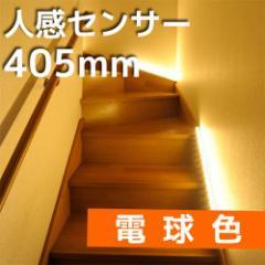 LEDエコスリム 直管LEDライトセンサー 長さ405mm 電球色 LT-NLD65L-HS 07-9775