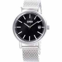 新品未使用 エドウィン EDWIN メンズ腕時計 エピック EPIC クロネコDM便で送料無料 3針 クオーツ 付属品欠品 EW1G001M0064