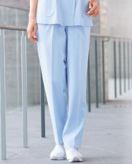白衣 自重堂 ホワイセル WH10642 ゆったり レディースツータックパンツ 制菌加工 女性 看護師白衣