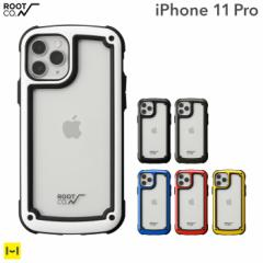 iPhone11Pro iphone 11pro ケース クリアケース ROOT CO. Gravity Shock Resist Tough & Basic Case クリア 透明 ルートコー
