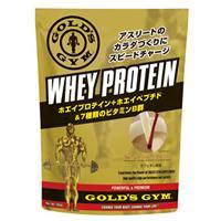 GOLD'S GYM(ゴールドジム) ホエイプロテイン+ホエイペプチド&ビタミン カフェオレ風味 360g