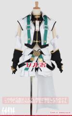 ViVid Strike!(魔法少女リリカルなのはシリーズ)★フーカ・レヴェントン バリアジャケット 手袋付き☆コスプレ衣装 [2755]