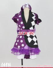【コスプレ問屋】ももいろクローバーZ(ももクロ)★もリフだョ!全員集合 紫 高城れに☆コスプレ衣装