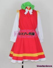 【コスプレ問屋】東方project(とうほうプロジェクト)★橙(ちぇん)☆コスプレ衣装