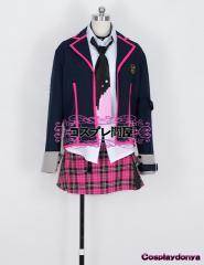 【コスプレ問屋】テイルズオブエクシリア(TOX)★ミラ 制服☆コスプレ衣装