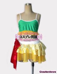 【コスプレ問屋】ラブライブ!★矢澤にこ 夏色えがおで1,2,Jump!☆コスプレ衣装