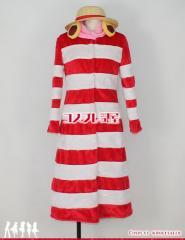 【コスプレ問屋】ONE PIECE(ワンピース・OP・ワンピ)★ルフィ パンクハザード 帽子付1☆コスプレ衣装