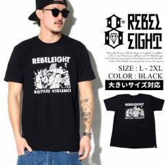 REBEL8 レベルエイト tシャツ 半袖tシャツ メンズ 大きいサイズ