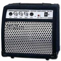 【ヘッドホン端子付き】3トーンコントロール 10Wギターアンプ Tonysmith TG-75 ネイビー/ブラック