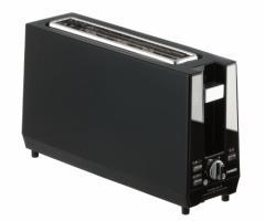 (送料無料)TWINBIRD ポップアップトースター ブラック TS-D424B