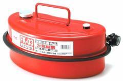 (送料無料)Meltec ( メルテック ) ガソリン携行缶 3L FK-03