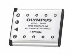 OLYMPUS リチウムイオン充電池 LI-42B