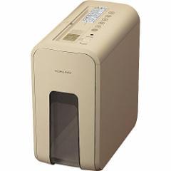(送料無料)コクヨ 超静音 デスクサイドシュレッダー 最大裁断5枚 ベージュ AMKPS-X80LS