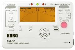 (送料無料)KORG チューナー/メトロノーム TM-50 PW パールホワイト