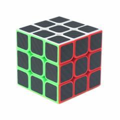 C-cube スピードキューブ 3x3x3立体パズル カラーの立方体炭素繊維ステッカー 競技用 ポップ防止回転スムーズ