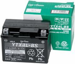 (送料無料)GS YUASA [ ジーエスユアサ ] シールド型 バイク用バッテリー YTX4L-BS