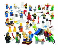 レゴ コミュニティーミニフィギュア 256ピース 9348