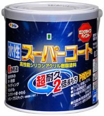 アサヒペン ペンキ 水性スーパーコート 水性多用途 白 0.7L
