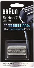(送料無料)【正規品】 ブラウン シェーバー シリーズ7 網刃・内刃一体型カセット ブラック F/C70B-3