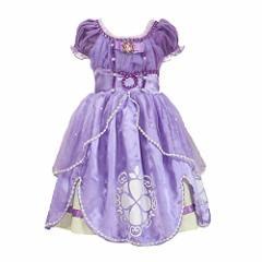 8f17ef76c780e プリンセスなりきり 子供 ドレス キッズ 子ども お姫様 ワンピース お姫様ドレ ちいさなプリンセス ソフィア (1
