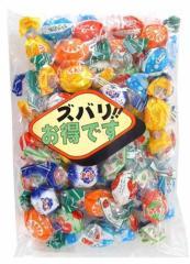 (送料無料)中日本製菓 ズバリミックスキャンディ 340g