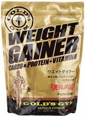 GOLDS GYM ウエイトゲイナー チョコレート風味 1kg