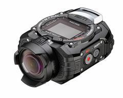 (送料無料)RICOH 防水アクションカメラ WG-M1 ブラック WG-M1 BK 08271