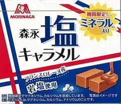 (送料無料)森永製菓 塩キャラメル 12粒×10箱