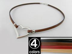 ■新品■グラスホルダー201105-14-2-BRカジュアル ハート 婦人 サングラス メガネ ルーペ 人気 可愛い