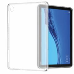 【送料無料】Huawei MediaPad M5 Lite 10 ケース クリア 透明 TPU素材 保護カバーBAH2-W19専用 背面ケース 超軽量 極薄落下防止