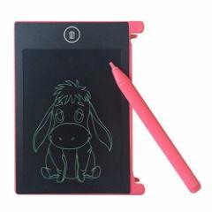 【送料無料】電子パッド 電子メモ デジタルメモ 4.4インLCD画板 スマートノート ペン付き ワンタッチ消去 お子様のお絵かきなどに適用