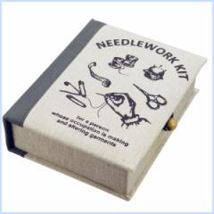 ソーイングセット 携帯 裁縫セット かわいい 裁縫箱 ソーイングボックス NEEDLEWORK ソーイングボックス