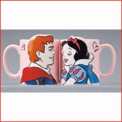 白雪姫グッズ マグカップペア ディズニープリンセス 食器 マグカップ キスペアマグ 白雪姫