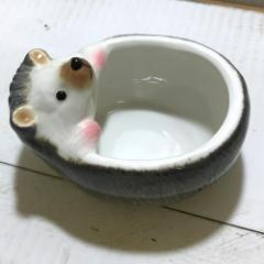 ハグカップ ハリネズミ ハリネズミ グッズ 雑貨 スープカップ 両手 スープ ボウル おしゃれ かわいい