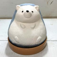 ハリネズミ 加湿器 エコ 加湿器 陶器 気化式 卓上 オフィス ハリネズミ グッズ 雑貨
