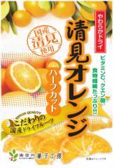 南信州菓子工房 やわらかドライ清見オレンジ ハーフカット60g5袋セット 国産清見使用