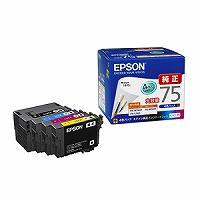 EPSON インクカートリッジ 4ショク IC4CL75
