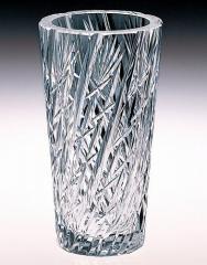カガミクリスタル 花瓶 F239-778