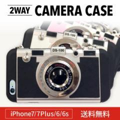 iPhone7 iPhone7Plus iPhone6s iPhone6 立体 カメラ型 スマホケース ケース かわいい クール シンプル クラシック 着せ替え ストラップ