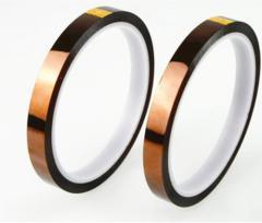 ポリイミド絶縁耐熱テープ (幅10mm、長さ30m) 2本セット電子工作の必需品電子基板の金メッキエッジコネクタ 保 mmk-a04【1〜2日発送】