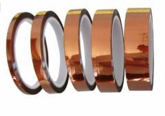 ポリイミド絶縁耐熱テープ (幅5mm、10mm、15mm、20mm、25mm)長さ30m  5種セット 電子工作の必需品 基板の エッmmk-a07【1〜2日発送】