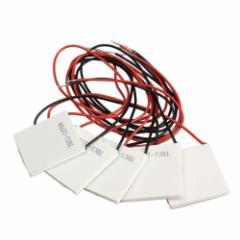 TEC1-12706半導体熱電クーラーペルチェタブレット DC12V 6A 5枚セットmmk-e30【1〜2日発送】